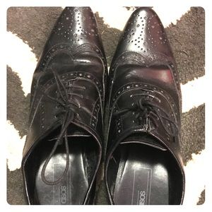 ASOS leather dress shoes men's size 8 (women's 10)